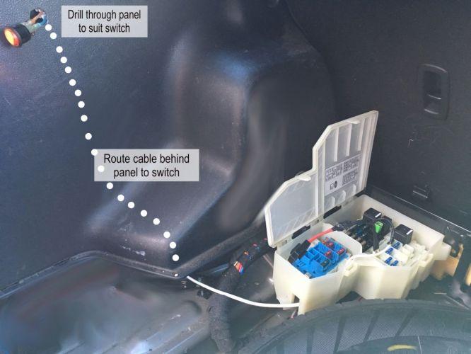 freelander parking sensor fuse